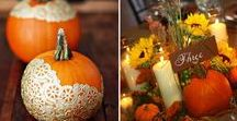 Autunno: Idee matrimonio / Autumn wedding ideas