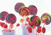 Lollipop                     Arcobaleno di colore / Rainbow wedding theme