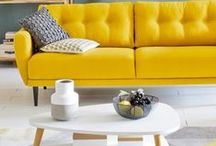 Living room / Inspiration for a colorful, exotic and peaceful living room!