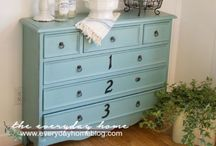 Furniture and Home Decor / Add tips and finished products to the group board.