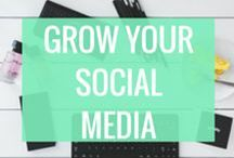 Social Media Marketing Tips / Blogging Social Media Tips for Pinterest, Facebook, Twitter, Instagram, and many more. Let's make you popular on social media. Here's how to generate a buzz and connect with others to grow your following and market your blog or business on social media.