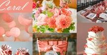 Matrimonio Corallo / Coral for your summer wedding theme