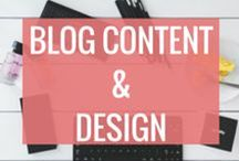 Blog Content | Blog Post Ideas & Design / Learn how to write Evergreen Amazing Blog Posts which people want to read & will engage your readers. Discover which blog layouts and colours will drive your blogging to success.