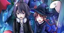 Wadanohara & The Great Blue Sea / currently my favourite RPG game #protectsamekichi