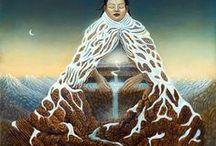 Goddess Mother Moon Earth