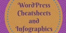 WordPress Cheatsheets and Infographics / WordPress Cheatsheets and Infographics