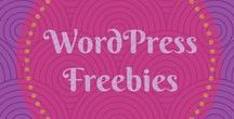 WordPress Freebies / Freebies to help you design your website. Find out more at https://www.nimbusthemes.com/category/freebies/