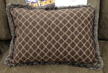 Accent Pillows! Throw on the charm! / Here's a few of our fabulous selection in stores!