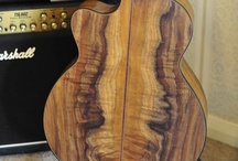 Koa guitars / by George Lowden Guitars