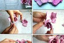 tvoření kytiček