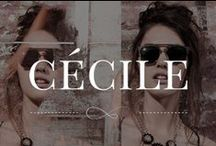 Cécile / #accesories #jewelry #clutches #bags #hats #glasses
