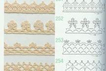 Crochet edgings / Crochet