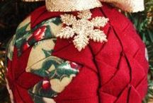 Christmas Quilted Ornaments