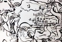 Textile ideas / Matisse figurative