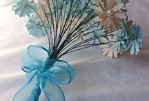 Kağıttan(grapon kek kağıdı) çiçek