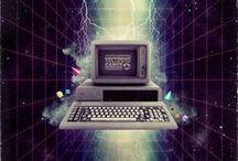Retro Synth Design / Outrun / New Retro Wave style graphics.