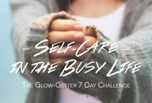 Self-Care in The Busy Life / The Glow-Getter 7 Day Challenge: Self-Care in the Busy Life! FREE ebook that walks you through a week of balancing self-care in your hectic busy gal lifestyle. Being able to balance the two is exactly what defines a true #glowgetter. We have created this special board for you to show us your take on the challenge. ++ Pin with #glowgetter, invite your Friends :)  +++ Download your ebook HERE : http://get.vainpursuits.com/pinterest-7-day-glowgetter-challenge-ebook/