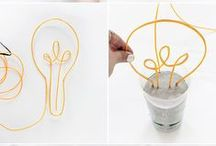 DIY: verlichting / Allerlei leuke zelfmaakideeën om leuke verlichting te maken!