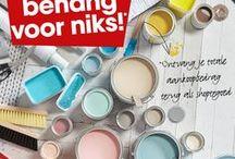 DIY: aan de slag met verf! / Met verf kun je zo veel meer doen dan alleen je muur schilderen. Hier vind je de leukste DIY-inspiratie.