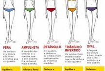 Geometria Corporal / É o estudo da estrutura corporal das pessoas. Observando o corpo humano percebemos o quanto cada indivíduo possui características distintas.
