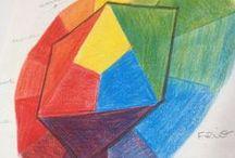 Cores / As cores dão alegria e luz em nossa vida. É importante saber coordená-las para usar dessa luminosidade ao seu favor.