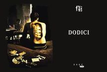 FIRST BOOK | DODICI / Realization first work | printing and binding