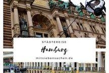 Reisen / Schöne Reiseziele in Deutschland, wie Hamburg, Dresden & Speyer.