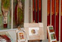 Kunst / Vielseitige Kunstobjekte der Künstler: Bilder, Gemälde, Skulpturen, Gartendeko. Fürs Wohnzimmer, Esszimmer, Flur, Küche, Garten, Balkon, Terrasse. Aus Stahl, Beton, Aquarell, Öl.