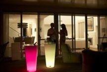 Mobiliario led / Mobiliario luminoso con luz led
