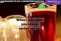 Say a Monster Thank You #monsterthankyou / 50 Reasons to say a #monsterthankyou http://monsterthankyou.co.uk