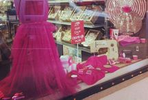 Mansfield Sweets Shop Windows / A few windows we have created during Special events in Mansfield.