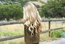 magic created with (blond) hair