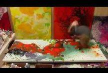 DrewTube / Timelapse videos of #AbstractArt paintings done at Drew Beson Art Gallery + Studio.