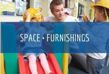 Space + Furnishings / Well-planned indoor and outdoor environments make it easier for children to learn, get along with one another and become independent. Learn more about effective at Child Care Aware of North Dakota www.ndchildcare.org/providers/space-furnishings