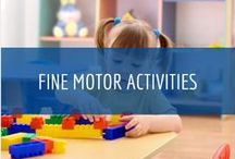 Fine Motor Activities / Learn More About The Importance of Fine Motor Activities at Child Care Aware of North Dakota www.ndchildcare.org/providers/activities