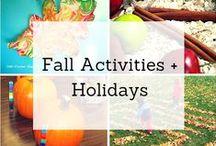 Fall Activities + Holidays / by Child Care Aware® of North Dakota