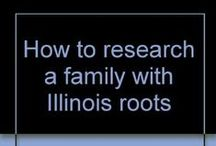 Illinois Genealogy Resources / Looking for materials on how to research your family roots in Illinois?  Check out some of these materials available at Pinnacle Library Cooperative libraries!
