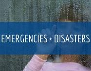 Emergencies + Disasters / You need to be prepared for emergencies and disasters. Your advanced planning will allow you to protect the lives of children and staff before, during, and after a disaster or emergency.