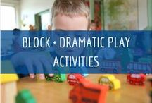 Block + Dramatic Play Activities / Learn More About The Importance Block & Dramatic Play Activities at Child Care Aware of North Dakota www.ndchildcare.org/providers/activities