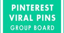 Pinterest Viral Pins - Group Board / Let's help each other to grow our blogs together! Share Pins Related to All Topics. BOARD RULES: 1) ONLY PIN VERTICAL, HIGH-QUALITY IMAGES 2) Only Pin Images From Your Blog 3) Share Other's Pins (Must) 4) Follow me and the board 5) Email me at siva@dreamshala.com with your Pinterest contact email and blog link. Limit Only 3 Pins A Day! Anyone who does not follow the rules will be removed!