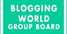 Blogging World - Group Board / Let's help each other to grow our blogs together! Share Pins Related to Blogging, Blogging success, Blog Promotions, Tricks, Tips, Updates and more. BOARD RULES: 1) ONLY PIN VERTICAL, HIGH-QUALITY IMAGES 2) Only Pin Images From Your Blog 3) Share Other's Pins (Must) 4) Follow me and the board 5) Email me at siva@dreamshala.com with your Pinterest contact email and blog link. Limit Only 3 Pins A Day! Anyone who does not follow the rules will be removed!