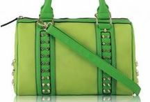 Gorgeous Green Bags