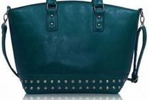 Teal and Turquoise Bags