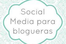 Tutoriales y cursos para blogueras / Descubre el paso a paso de las redes sociales más importantes para tu blog. Además, ¡participamos en los cursos de Social Media de Personalización de Blogs!