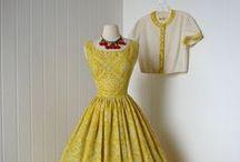 Vintage / 1950, 1960, dresses