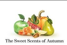 Sweet Scents of Autumn / Bloom Perfumerys top pick of woody, fruity, edible and abundantly spiced autumnal perfumes with notes such as pumkin, ripe figs, apples, pears, delicious honey and almonds.  https://bloomperfume.co.uk/editors_picks/The_Sweet_Scents_of_Autumn