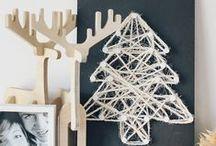 Christmas Album / Ideas e inspiración para decorar la Navidad: empaquetado de regalos, tarjetas de felicitación, decoración...