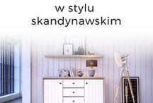 STYL SKANDYNAWSKI | Meble i aranżacje wnętrz w stylu skandynawskim / Uniwersalny, ponadczasowy. Nic dziwnego! Kolor, który idzie w parze z tym stylem, czyli praktyczna i wiecznie modna biel, sprawia, że i sama skandynawia na dobre udomowiła się w naszych sercach.