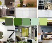 KOLORY ❖ Jak łączyć kolory i jak wnieść kolory do domowych wnętrz? / Wiemy, jak trudne w urządzaniu domu jest wybieranie kolorów, które mają tworzyć nieodłączny element Waszych ukochanych wnętrz. Aby Wam pomóc w tej kolorystycznej bitwie myśli, pokażemy Wam, jakie kolory idealnie ze sobą współgrają – i to w najróżniejszych przestrzeniach domowego zacisza.