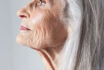 Beauty old woman